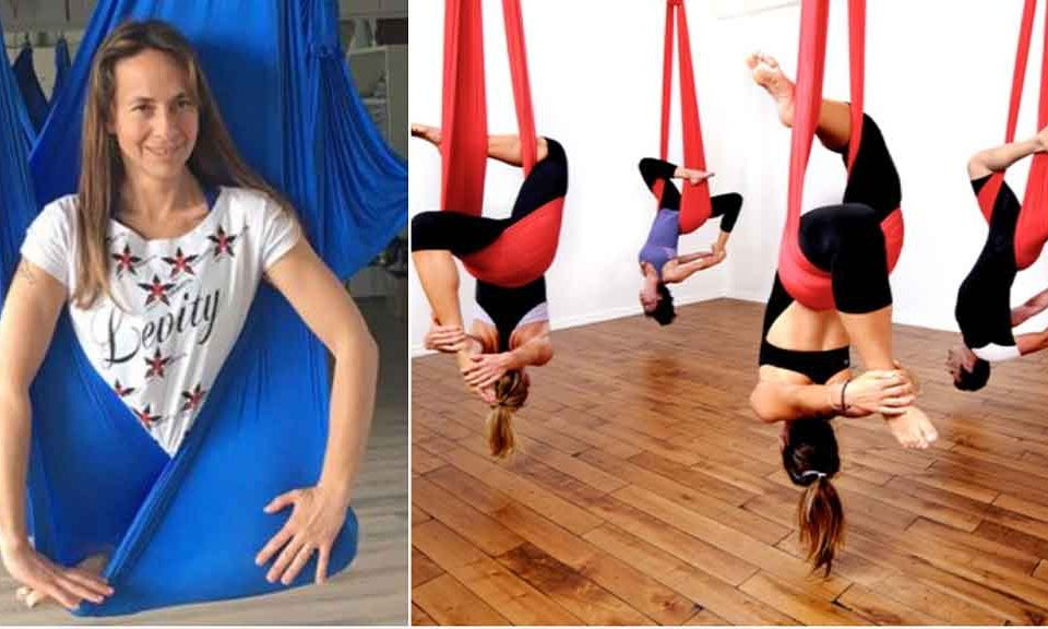 antigravity yoga e fitness